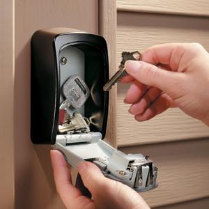 Boitier Coffre avec clé inviolable pour ouverture de porte sans dégâts par les services de secours